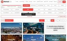 .Nomad List: An amazing database of cities, with remote working potential  #DigitalNomad