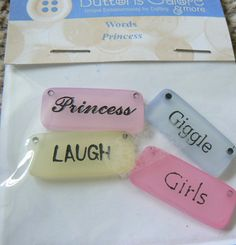 princess word tiles four saying words Princess Laugh Giggle Girls new and sealed packet   Shop this product here: http://spreesy.com/labazs/31   Shop all of our products at http://spreesy.com/labazs      Pinterest selling powered by Spreesy.com