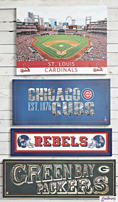 Sports fans will LOVE these wall signs shouting their love for the sport! #gordmans