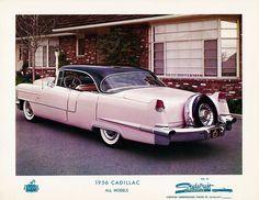 1956 Cadillac Sedan de Ville with Stylecraft Tire Kit