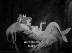 Peter Pan Mermaid - We were only trying to drown her