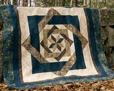 """~ LABYRINTH QUILT PATTERN  I made this one for a """"special"""" couple!"""