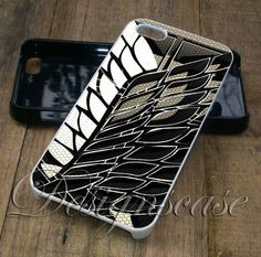 Attack on Titan Recon Corp logo Case for iPhone Case,Ipod Touch Case, Samsung Galaxy Case, Xperia Case, HTC Cases Available Rubber Plastic