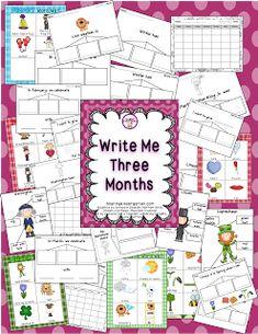 Summer Linky Party- Writing - Sharing Kindergarten