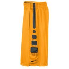 Nike Elite Stripe Shorts - Laser Orange/Wolf Grey/Black Nike Athletic Shorts, Athletic Clothes, Athletic Outfits, Elite Shorts, Stripe Shorts, Orange, Yellow, Workout Gear, Me Too Shoes