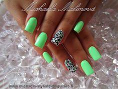 Luv the color Cute Nail Polish, Nail Polish Designs, Gel Nail Art, Cute Nail Designs, Acrylic Nails, Fancy Nails, Love Nails, Pretty Nails, My Nails