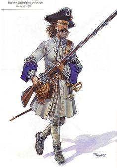 Spanish Army uniforms