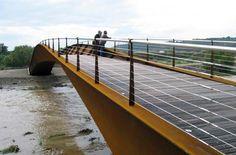 Anta Ingeniería Civil   Projects   Vía Verde Footbridge over the river Cidacos in Calahorra