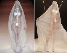 Brides think of having the perfect wedding, however for this they require the perfect wedding dress, with the bridesmaid's dresses enhancing the brides-to-be dress. Here are a variety of ideas on wedding dresses. Weird Wedding Dress, Custom Wedding Dress, Sexy Wedding Dresses, Perfect Wedding Dress, Wedding Gowns, Bridesmaid Dresses, Wedding Images, Wedding Styles, Maude