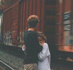 You make me feel safe.
