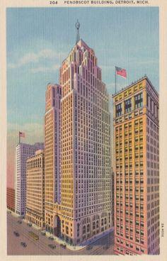 Detroit Post Card