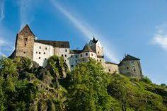 Castle of Loket, near Karlovy Vary (Karlsbad), West Bohemia, Czech Republic