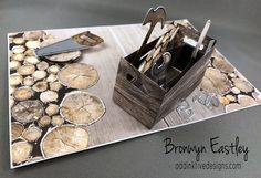 Nailed It Pop-Up Crate Card, The Stamp Review Crew, Wood Textures, Bronwyn Eastley, #addinktivedesigns Stampin' Up! Demonstrator Australia