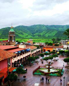 Paisajes naturales y urbanos de #Talpa, en #Jalisco, #Mexico.