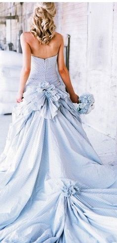 Sage And C What Your Wedding Dress Color Means Pinterest Colored Femininity Blue