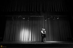 theatre inspired engagement picture