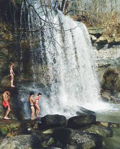 This Hidden Waterfall Near Toronto Is The Perfect Summer Hangout Spot - Narcity Canadian Travel, Canadian Rockies, Ontario Travel, Us Road Trip, New Travel, Summer Travel, Day Trips, Weekend Trips, Weekend Getaways