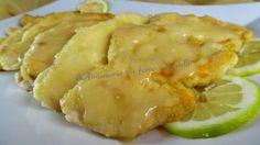 Petto di pollo con crema al limone Un secondo piatto davvero molto facile e veloce da preparare con un gusto e una cremosità unici.
