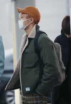 J-Hope ❤ BTS at Incheon airport heading to Nagoya, Japan #BTS #방탄소년단
