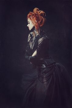 """Kyra Dark"" — Photographer: Rob Domenech Model:... - Dark Beauty"