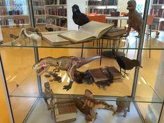 Læser dinosaurer bøger?