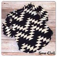 """Sew Chill """"black pearl"""" flutter tunic top debuted on Zulily.com 11/17/14.  Sold out in minutes!  Restocking on www.sewchill.com early/mid December.  Follow us at Sew Chill on FB for announcement of grand opening or our online store."""