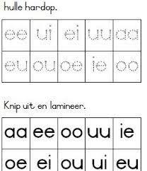 Image result for graad 1 klanke en woorde Printable Preschool Worksheets, Afrikaans, Handwriting Practice, Kids Education, Phonics, Kids Learning, Homeschool, Classroom, Teaching