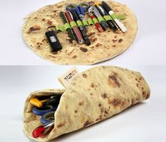 Pita Bread Pencil Holder. Amazing. #cool #design #funny