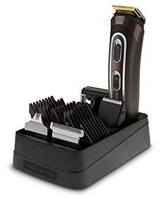 Rowenta TN9160 Trim&Style Grooming Kit 12 in 1, Rasoio & Rifinitore Multifunzione per Viso, Barba, Corpo e Capelli, Tecnologia Wet&Dry