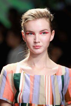 Marimekko - neon eye makeup