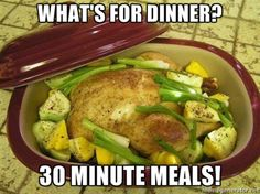 The Deep Covered Baker makes dinner quick and easy! Pampered Chef Party, Pampered Chef Recipes, Baker Recipes, Chef Dishes, Food Dishes, Rock Crock Recipes, Crockpot Recipes, Easy Delicious Recipes, Great Recipes