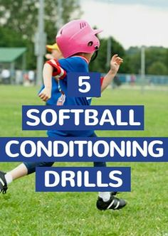 Improve your team's fitness and fast-pitch skills with these softball conditioning practice drills and workouts. Softball Gear, Softball Workouts, Softball Drills, Softball Coach, Girls Softball, Fastpitch Softball, Basketball Players, Softball Stuff, Soccer