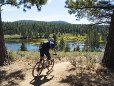 Lake Tahoe Mountain Biking Trail Guide - Routes 2 Check Out 4 Summer Best Mountain Bikes, Mountain Style, Mountain Bike Trails, California Places To Visit, Alpine Meadow, Trail Guide, South Lake Tahoe, Cross Country Skiing, Greatest Adventure