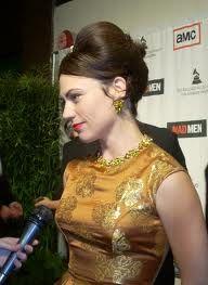 Maggie Siff portrays Rachel Menken on Mad Men