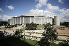 Astrodome, Houston, Texas by brenda_hawkins.  Been there for football, baseball, rodeo . . .