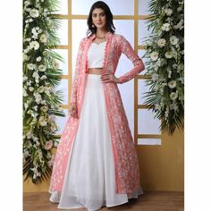 Party Wear Indian Dresses, Party Wear Lehenga, Designer Party Wear Dresses, Indian Gowns Dresses, Kurti Designs Party Wear, Dress Indian Style, Indian Fashion Dresses, Indian Wedding Outfits, Indian Designer Outfits