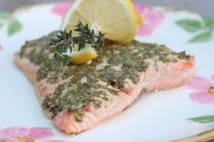 Herbed Baked Salmon — SIBO Diet recipes
