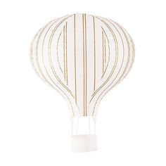 Go shabby chic with this set of 3 Hot Air Balloon Paper Lanterns in Gold And White. Add aerial displays and add layers of personality. Sold as an assorted set i Balloon Lanterns, Metal Lanterns, Candle Lanterns, Paper Lanterns, Balloons, Ceramic Lantern, Ceramic Candle Holders, Candle Holder Set, Hot Air Balloon Paper