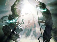 Luminarch Ascension Art by Michael Komarck