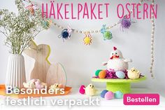 Hühnerfamilie häkeln - Gratis Anleitungen auf Wollplatz.de | Stricken und Häkeln Cactus, Mandala, Crochet, Shawl, Amigurumi, Pineapple Crochet, Strawberry, Crochet Backpack, Crochet Triangle