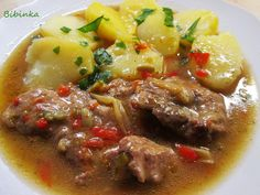 Snack Recipes, Cooking Recipes, Snacks, Czech Recipes, Food And Drink, Beef, Meals, Dinner, Czech Food