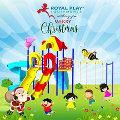 At Royal Play we all will say a Merry Christmas to you this day. Fill your day with joy and laughter. #RoyalPlayEquipment #MerryChristmas #xmas #happiness #holidays