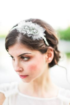 Astrid Beaded Headband made with crystals and by hushedcommotion, $145.00 Photos courtesy Jen Huang Photography.