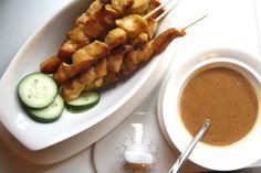 Lemongrass Chicken Satays with Indonesian Peanut Sauce | The Tasty ...