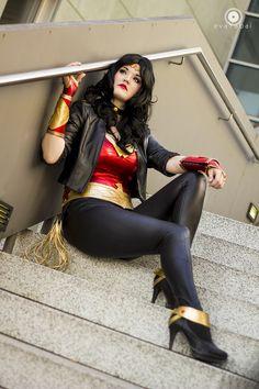 Wonder Woman costume idea. OR wardrobe inspiration!