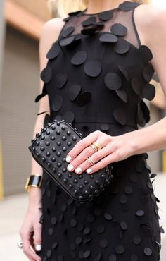 Your No-Brainer Guide to Mixing and Matching Your Favorite Rings via @WhoWhatWear