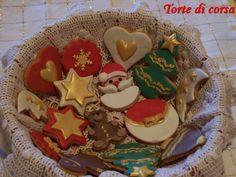 Biscotti di Natale decorati in pasta di zucchero, 2013