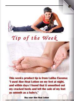 So many ways to use heat lotion!