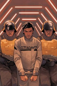 MARVEL COMICS (W) Charles Soule (A/CA) Phil Noto • Black Squadron's been locked away in a Republic prison! • But they're not locked in there with us, they're locked in with...Terrex?! • Can Poe and co