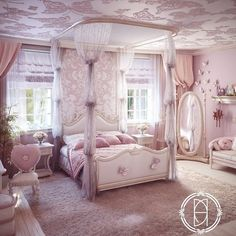 29 Ideas For Shabby Chic Bedroom Girls Decoration Beds 29 Ideas For Shabby Chic Bedroom Girls Decoration Beds Girl Bedroom Designs, Girls Bedroom, Bedroom Decor, Chic Bedroom Ideas, Girl Nursery, Pink Bedrooms, Shabby Chic Bedrooms, Dream Rooms, Dream Bedroom